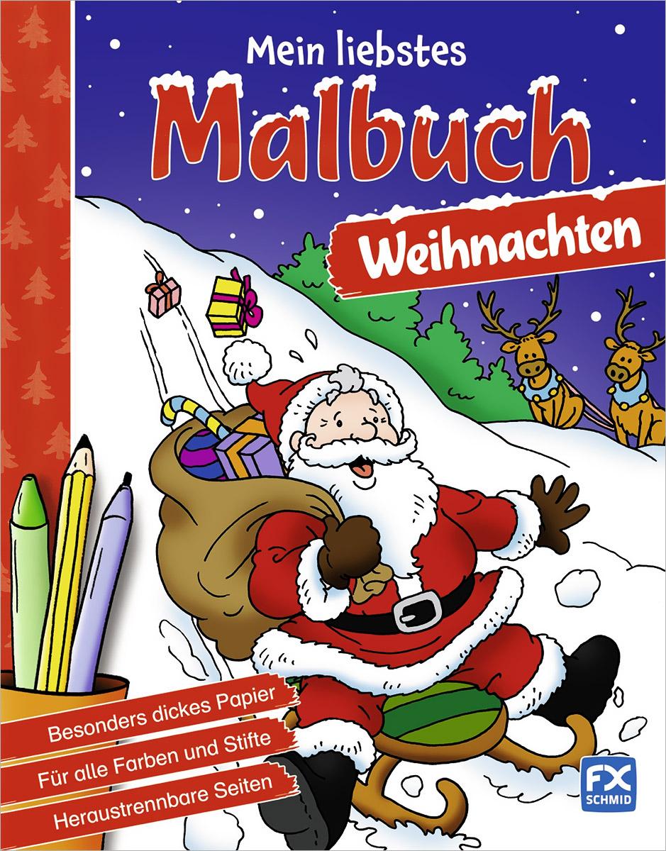 Weihnachten: Mein liebstes Malbuch
