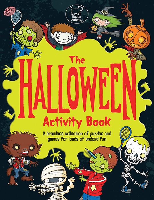 The Halloween: Activity Book