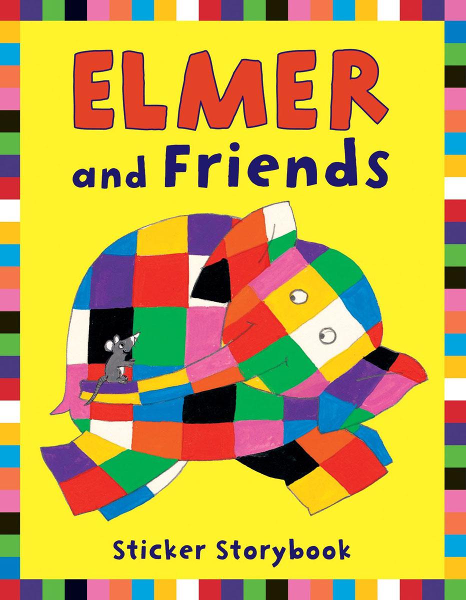 Elmer and Friends Sticker Storybook