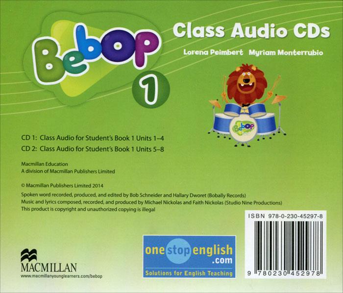 Bebop 1: Class Audio CDs (аудиокурс на 2 CD)