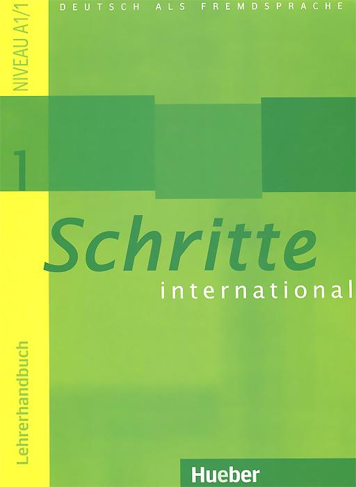 Schritte international 1: Lehrerhandbuch