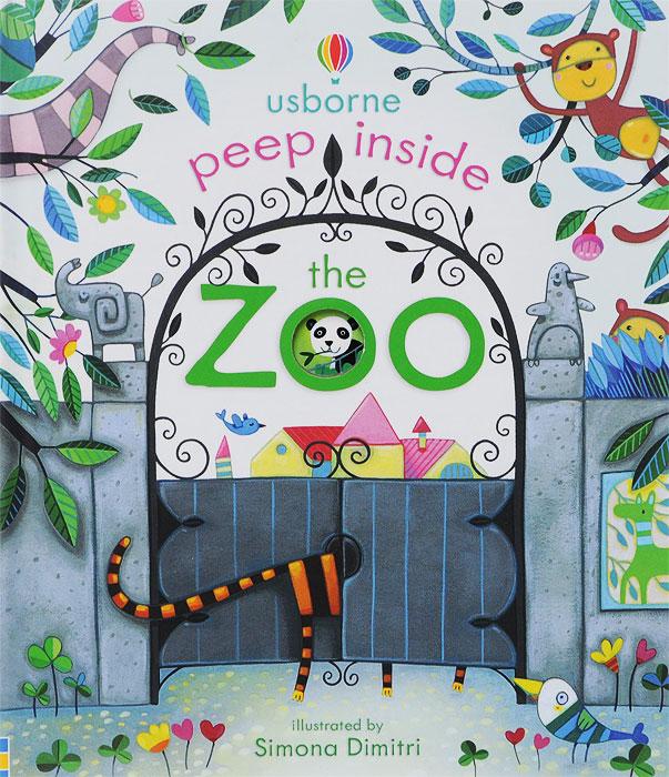 Anna Milbourne Peep Inside the Zoo 38 parrots