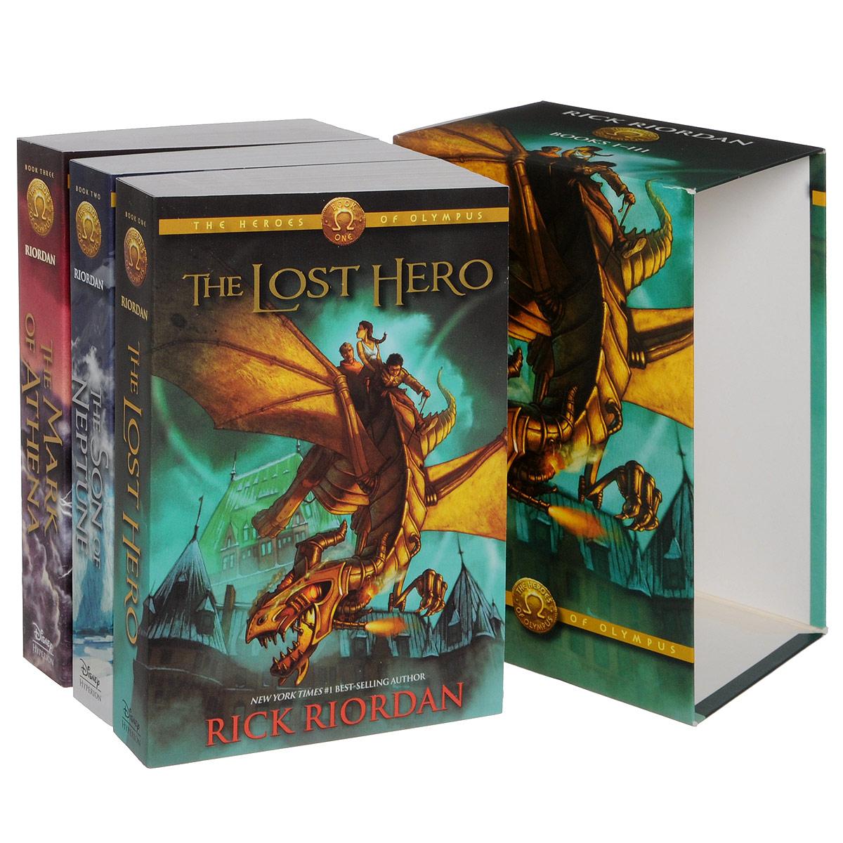 Heroes of Olympus (Books I-III)