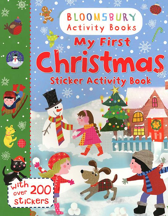 My First Christmas: Sticker Activity Book