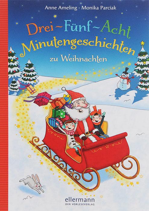 Drie-Funf-Acht Minutengeschichten zu Weihnachten12296407Das Warten auf Weihnachten kann ganz schon lang werden. Doch mit diesen Geschichten von einer wilden Schneeballschlacht, einem waschechten Weihnachtsdrachen, lustigem Platzchenbacken oder einer zauberhaften Bescherung im Winterwald ist die Wartezeit im Nu vorbei und Weihnachten steht vor der Tur. Und das Besondere: Kinder und Eltern konnen sich aussuchen, ob sie drei, funf oder acht Minuten vorlesen mochten!