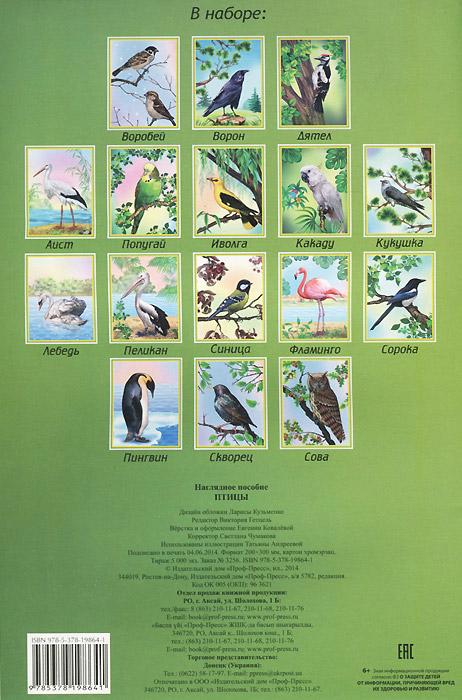 Птицы. Наглядное пособие