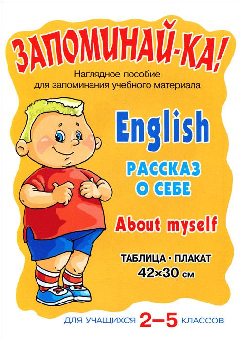English: About myself / Рассказ о себе. Для учащихся 2-5 классов