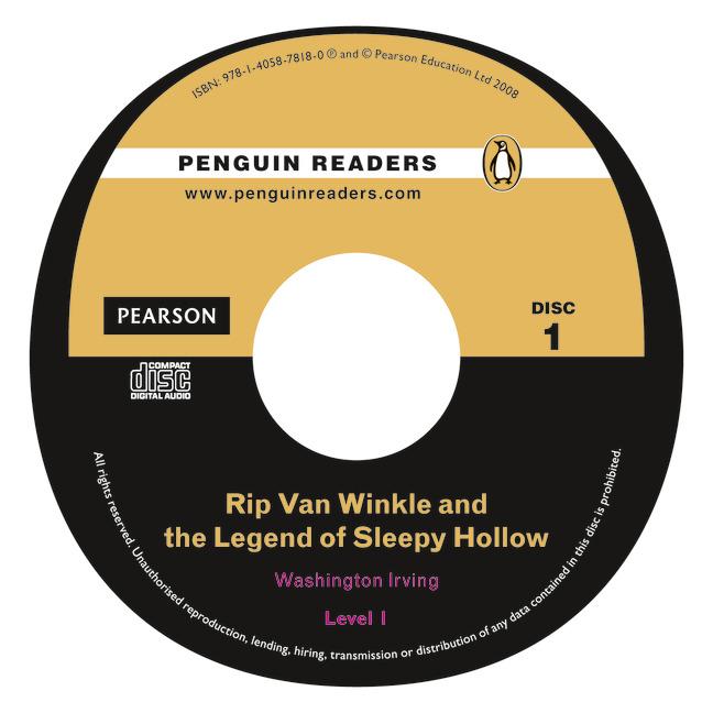 Rip Van Winkle and The Legend of Sleepy Hollow: Level 1 (+ CD)