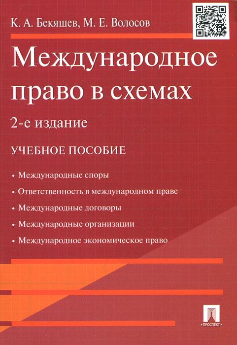 Международное право в схемах. Учебное пособие
