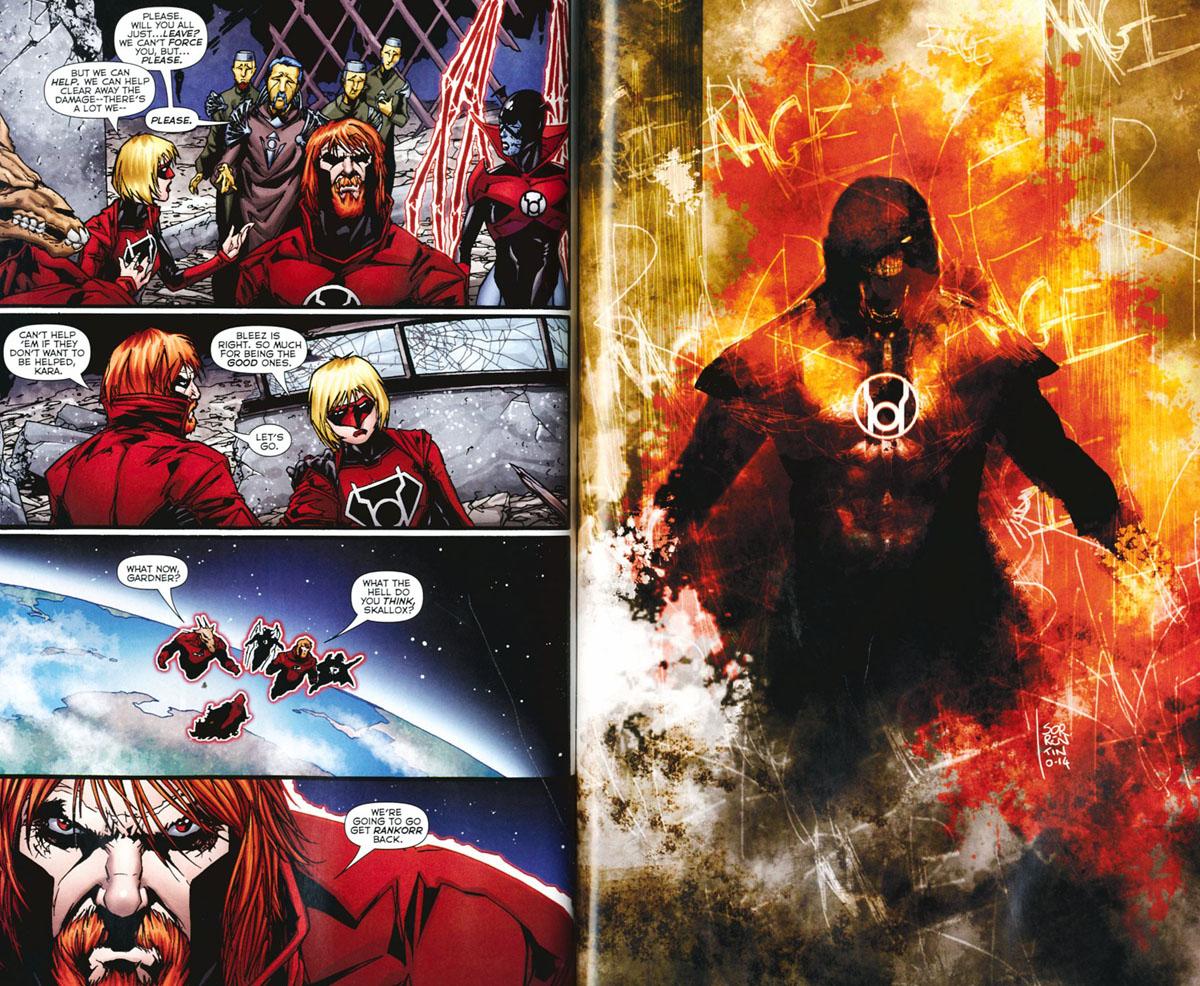 Red Lanterns: Volume 5: Atrocities