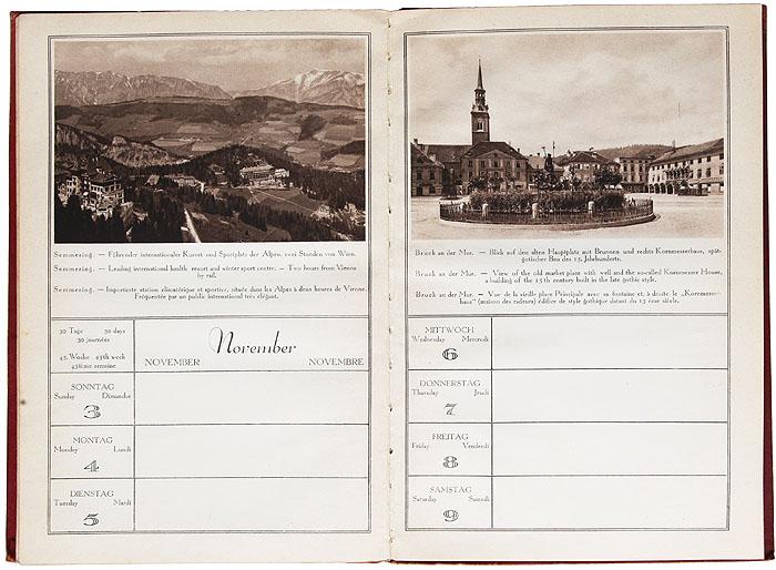 Австрийский календарь 1929