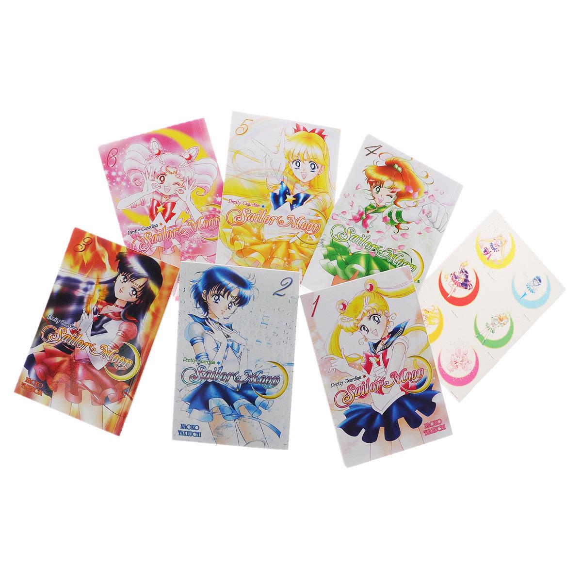 Pretty Guardian Sailor Moon: Volumes 1-6 (комплект из 6 книг)