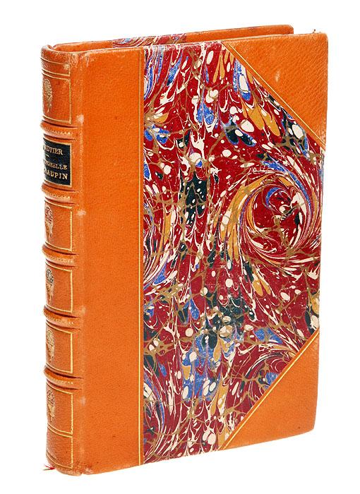 Мадемуазель де МопенОС27728Прижизненное издание. Париж, 1868 год. Издательство Charpentier, Libraire-Editeur. Владельческий переплет. Сохранена оригинальная обложка. Бинтовой корешок. Сохранность хорошая. Творческое наследие французского писателя Теофиля Готье (1811 - 1872) весьма разнообразно: романы, стихи (он был одним из основателей поэтической группы `Парнас`), путевые очерки, воспоминания, драмы, критические статьи и даже либретто балетов. Роман `Мадемуазель де Мопен` был написан в 1835 г. Он рассказывает о любви Розалинды к художнику д`Альберу. Роман на французском языке. Не подлежит вывозу за пределы Российской Федерации.