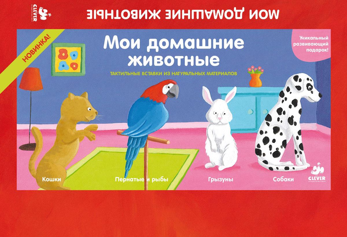 Мои домашние животные (комплект из 4 книг)12296407Что вас ждет под обложкой: Мои домашние животные - новый набор из 4 книг, подробно рассказывающий о животных: собаках и кошках, грызунах, птицах и рыбах. На каждой странице, выполненной из плотного картона, ребенок найдет красочные иллюстрации и фото, забавный рассказ о породах животных и информацию о звуках, которые издают домашние животные. А тактильные материалы, вставленные на каждую страничку, позволят малышу поверить в то, что он касается каждой зверушки или птицы. В комплект Мои домашние животные входят 4 яркие книжечки с тактильными материалами: Собаки Кошки Грызуны Пернатые и рыбы Гид для родителей: Набор Мои домашние животные ориентирована на детей с рождения и до 3 лет. Заниматься с ребенком по книгам, входящим в набор можно несколько лет. Сначала просто рассматривайте картинки и запоминайте новые слова. Затем, когда малыш начнёт говорить, обсудите с ним домашних животных. ...