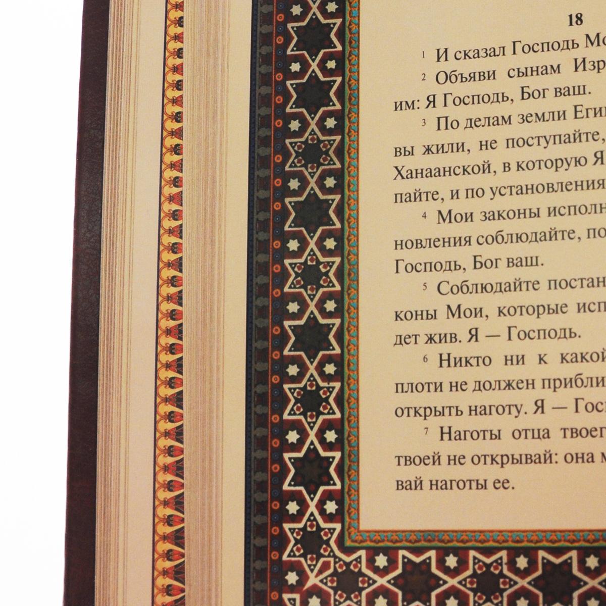 Иллюстрированная Библия. Пятикнижие Моисея (подарочное издание)