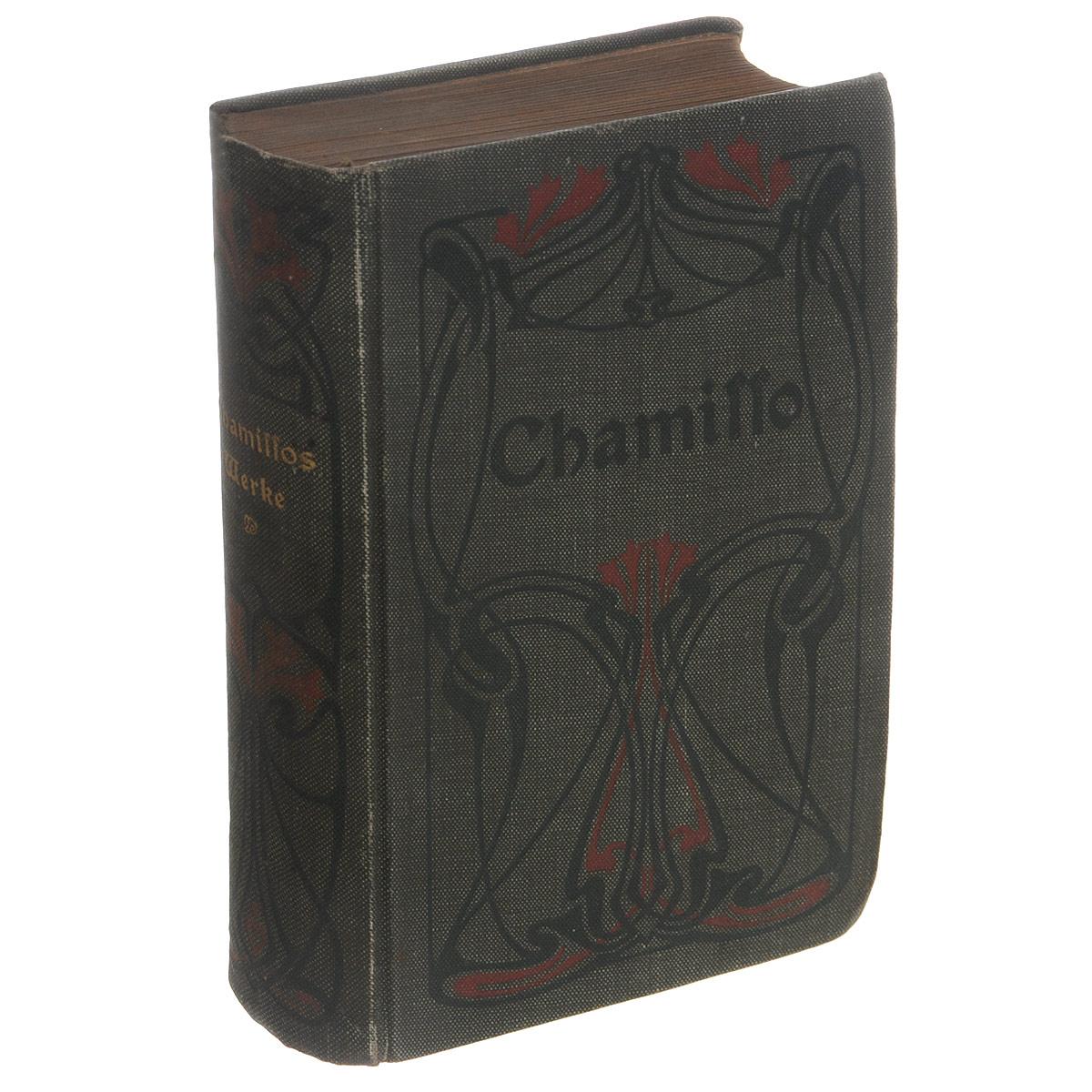 Chamisso. Samtliche WerkeПК301004_лимонный, салатовыйВашему вниманию предлагается антикварное издание 1910 года Samtliche Werke. Издательский переплет, сохранность хорошая.