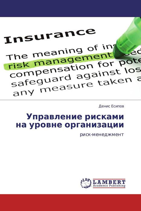Управление рисками на уровне организации