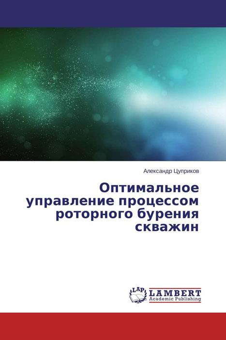 Александр Цуприков Оптимальное управление процессом роторного бурения скважин