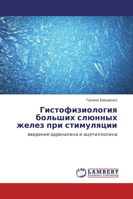 Гистофизиология больших слюнных желез при стимуляции