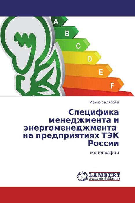 Специфика менеджмента и энергоменеджмента на предприятиях ТЭК России