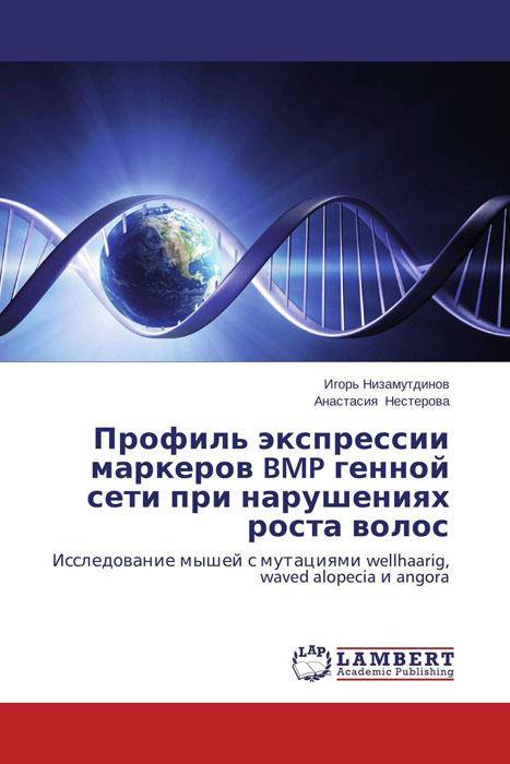 Профиль экспрессии маркеров BMP генной сети при нарушениях роста волос
