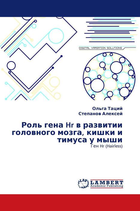 Роль гена Hr в развитии головного мозга, кишки и тимуса у мыши