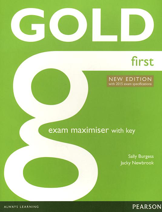 Jacky Newbrook, Sally Burges Gold First: Exam Maximiser with Key jk by jacky time jk by jacky time jk001dwilz04
