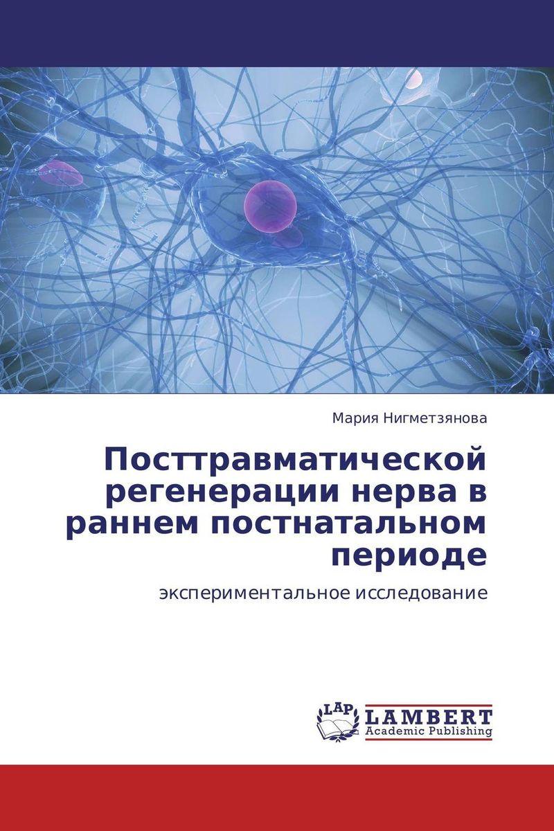 Посттравматической регенерации нерва в раннем постнатальном периоде