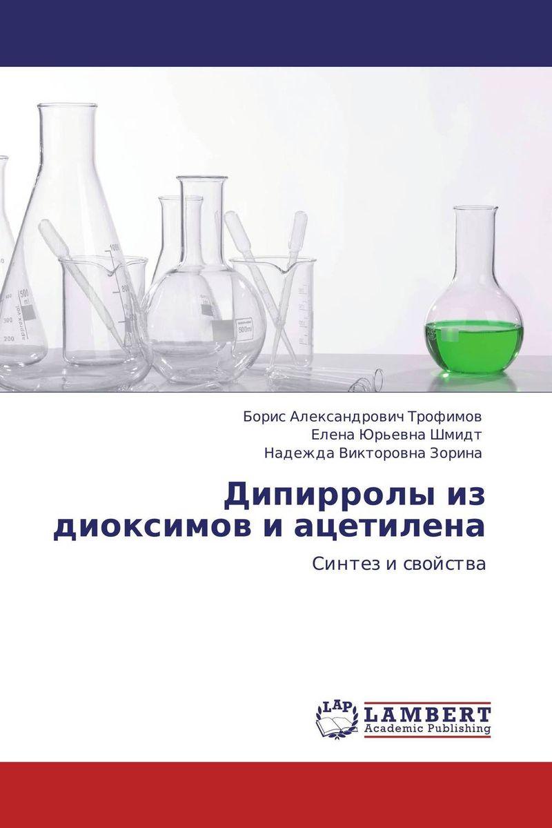 Дипирролы из диоксимов и ацетилена