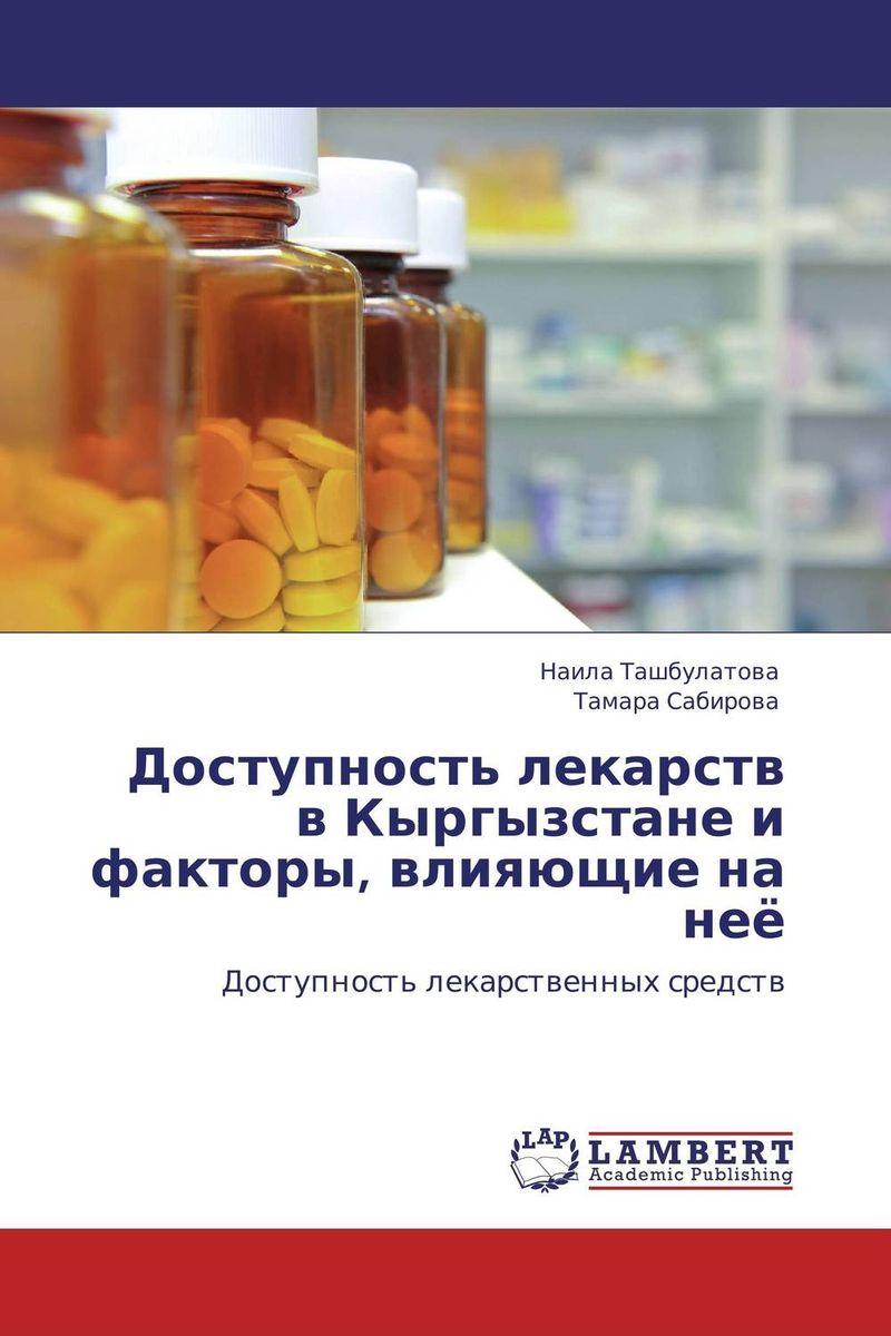 Доступность лекарств в Кыргызстане и факторы, влияющие на неё