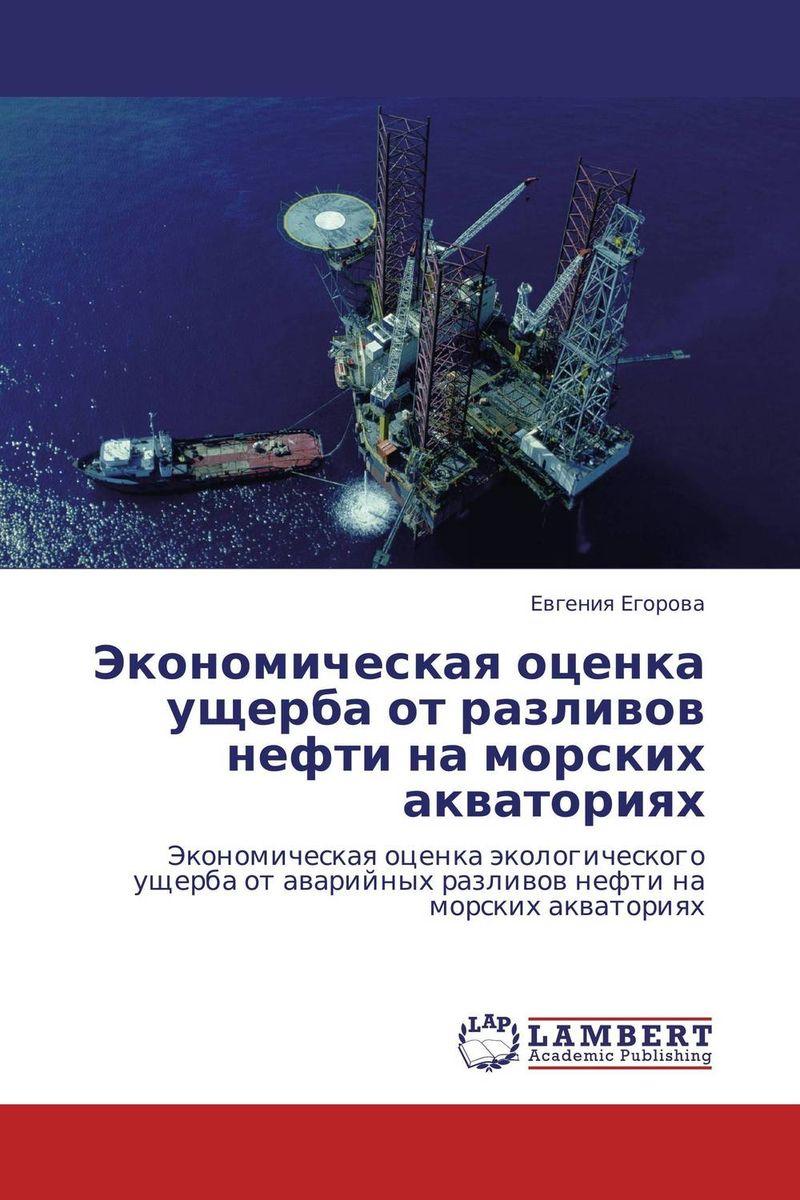 Экономическая оценка ущерба от разливов нефти на морских акваториях