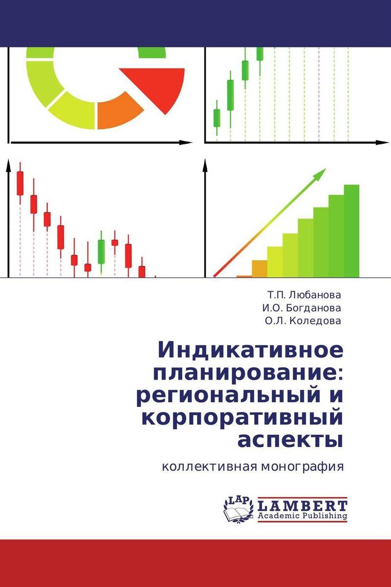 Индикативное планирование: региональный и корпоративный аспекты