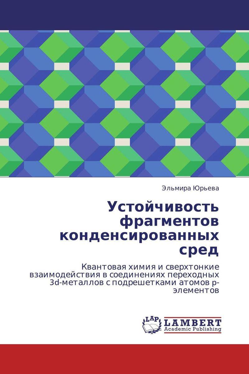 Эльмира Юрьева Устойчивость фрагментов конденсированных сред