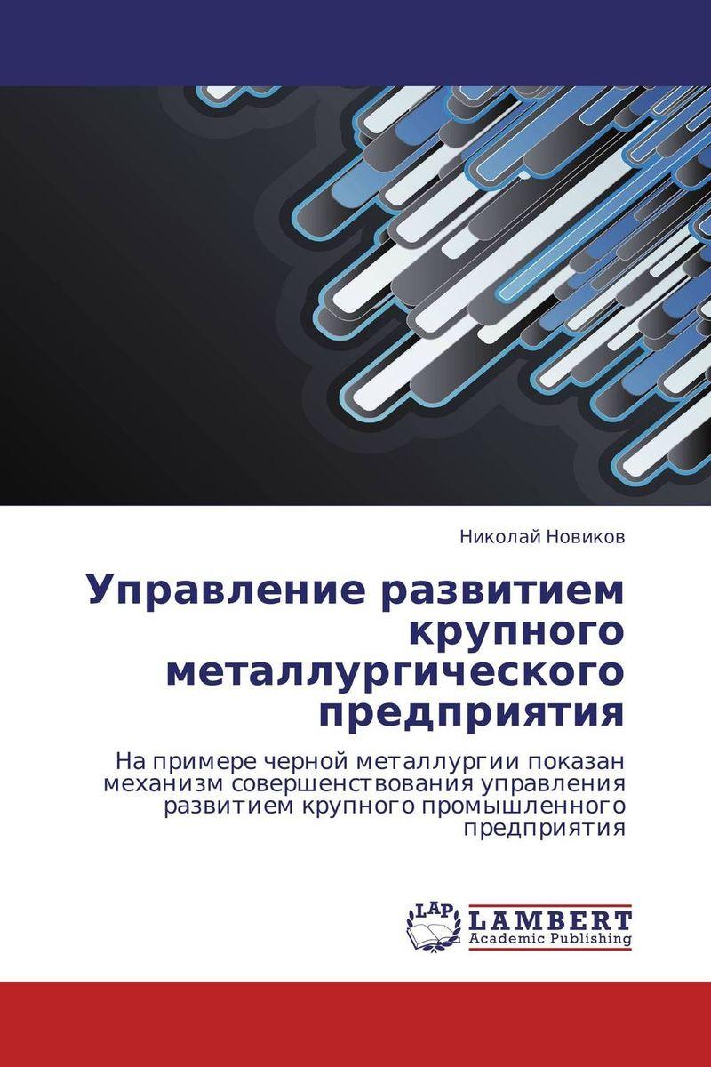 Управление развитием крупного металлургического предприятия