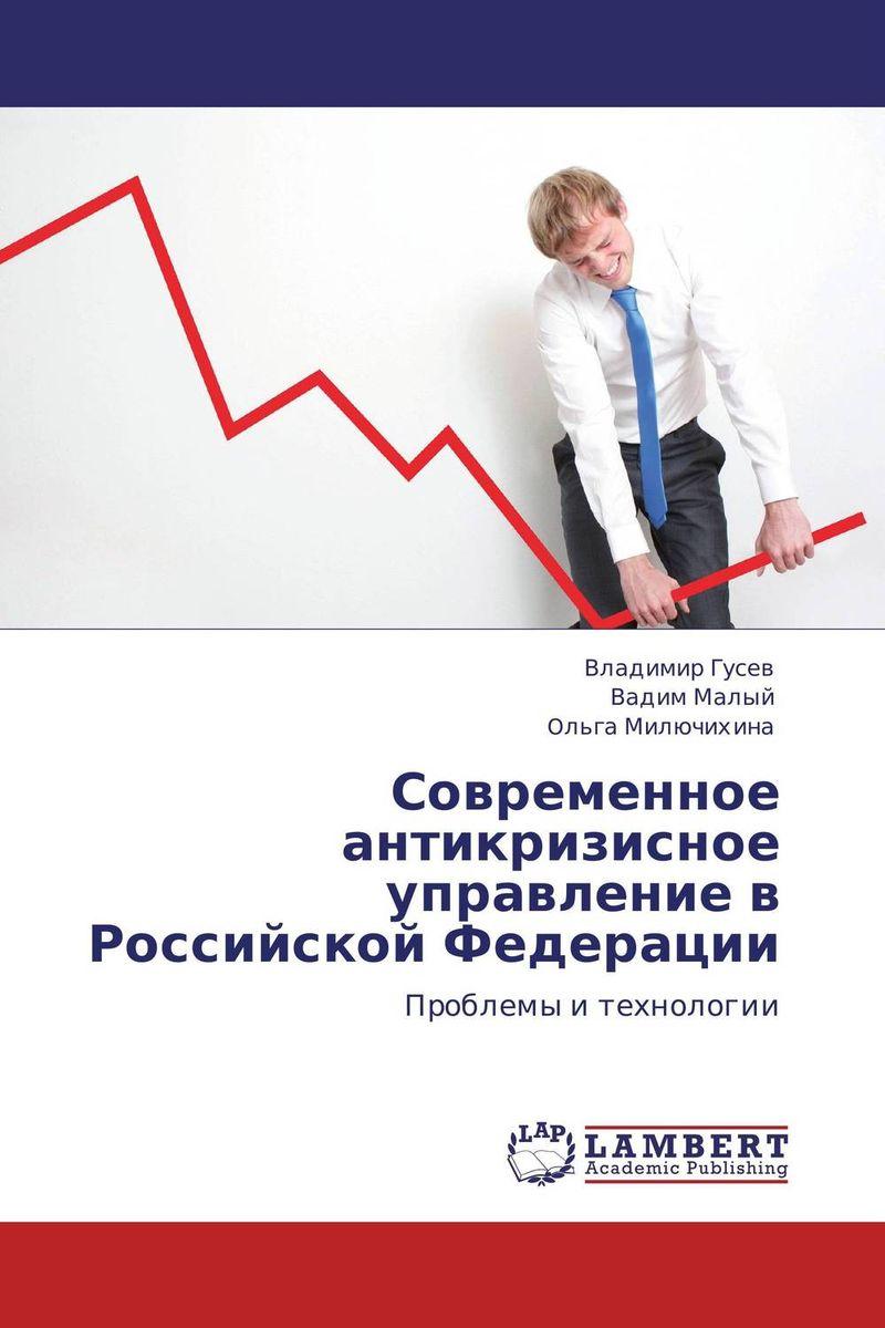 Современное антикризисное управление в Российской Федерации