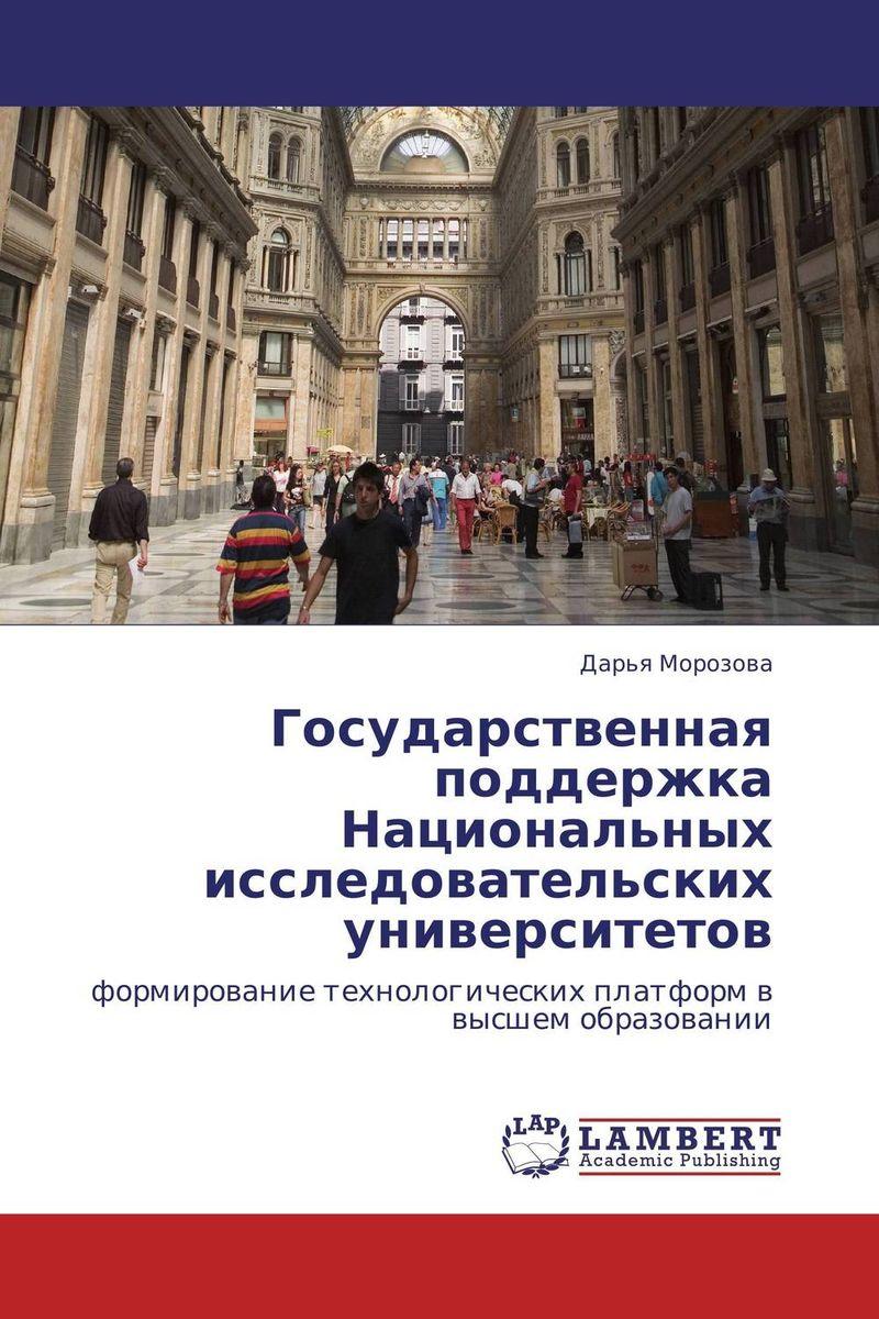 Государственная поддержка Национальных исследовательских университетов