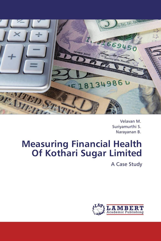 Measuring Financial Health Of Kothari Sugar Limited