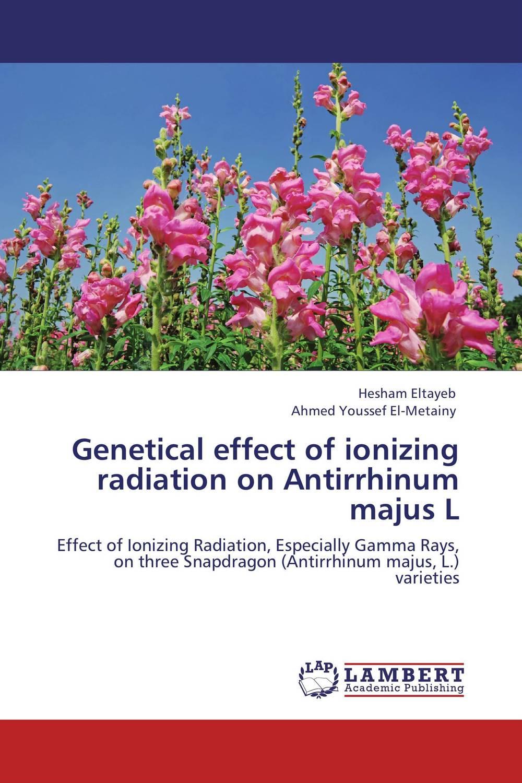 Genetical effect of ionizing radiation on Antirrhinum majus L