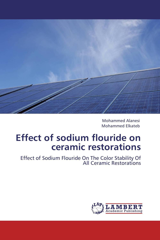 Effect of sodium flouride on ceramic restorations