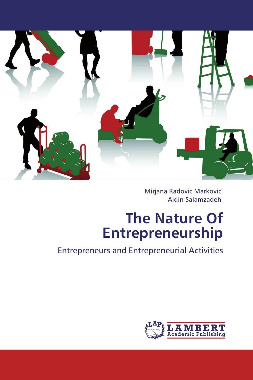 The Nature Of Entrepreneurship