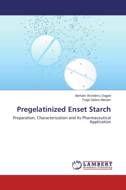 Pregelatinized Enset Starch