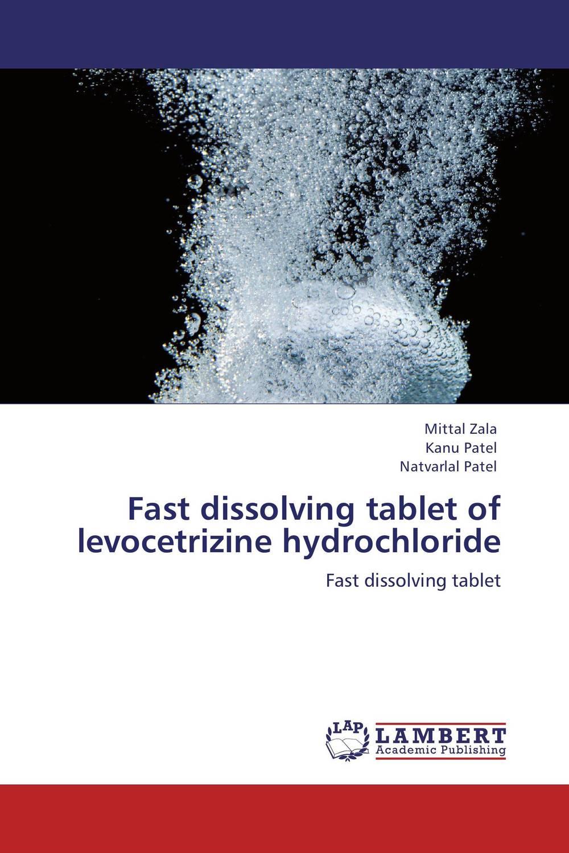 Fast dissolving tablet of levocetrizine hydrochloride