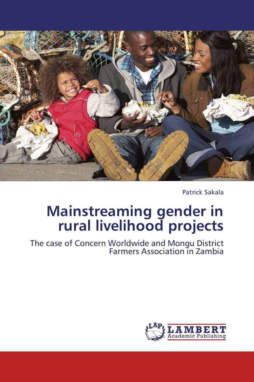 Patrick Sakala Mainstreaming gender in rural livelihood projects