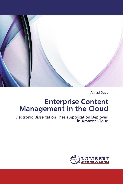 Enterprise Content Management in the Cloud
