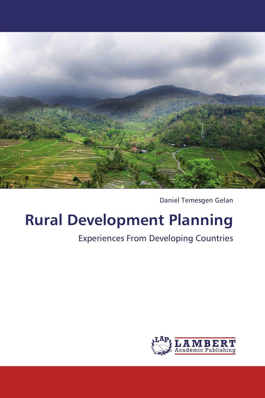 Daniel Temesgen Gelan Rural Development Planning