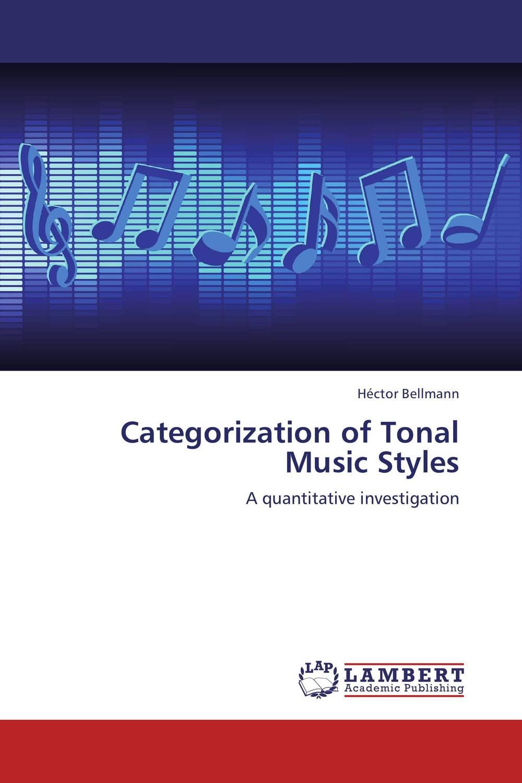 Categorization of Tonal Music Styles