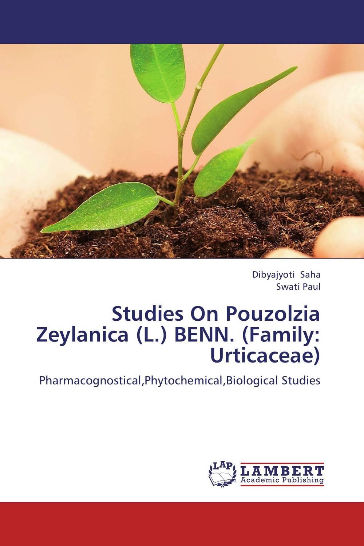 Studies On Pouzolzia Zeylanica (L.) BENN. (Family: Urticaceae)