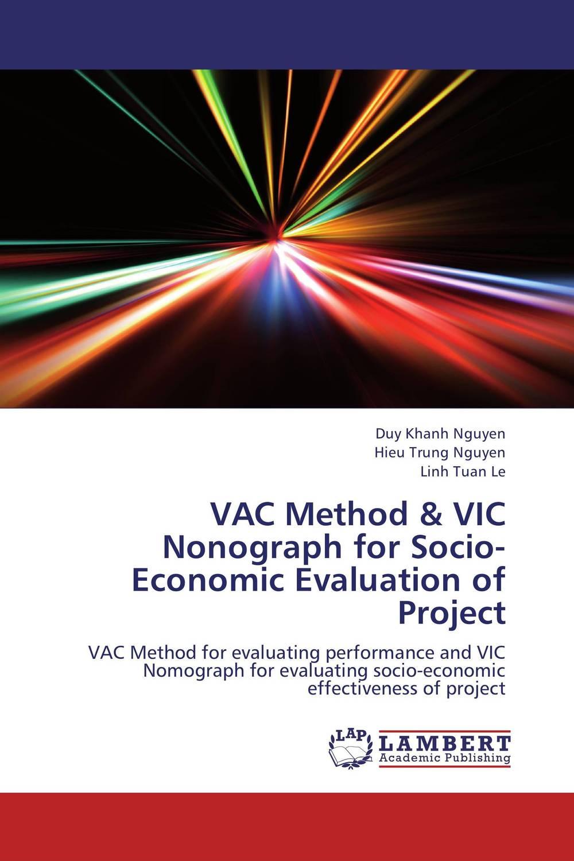 VAC Method & VIC Nonograph for Socio-Economic Evaluation of Project
