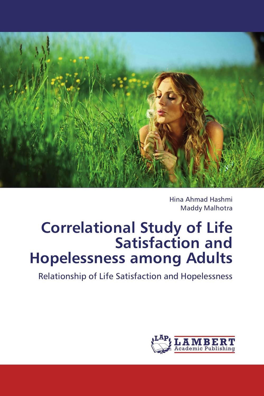 Correlational Study of Life Satisfaction and Hopelessness among Adults