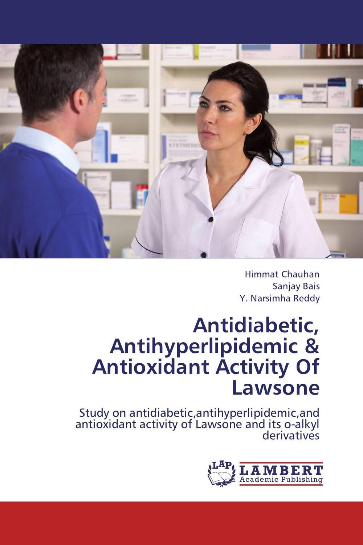 Antidiabetic, Antihyperlipidemic & Antioxidant Activity Of Lawsone